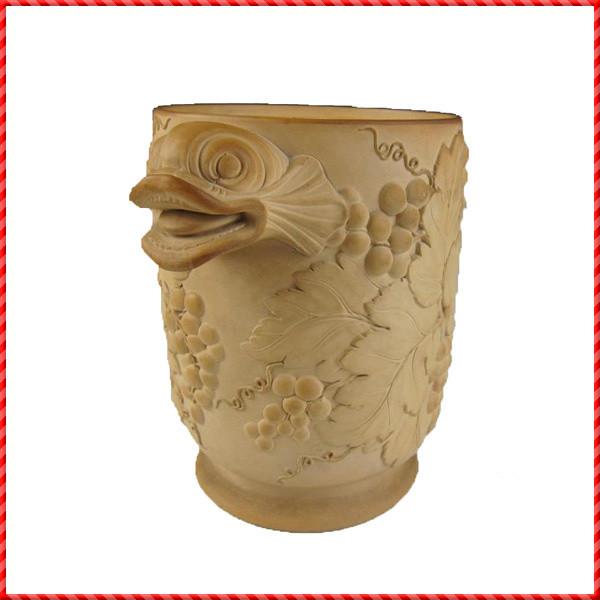 Terracotta wine coolder-037